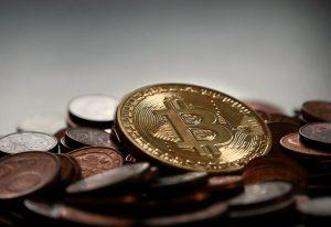 Trendlinie bei Bitcoin Profit mit einem Widerstand